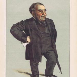 John Pender Vanity Fair Print 1871