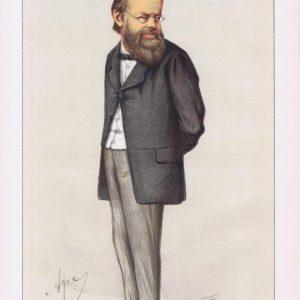 Edward Miall Vanity Fair Print 1871