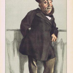 William Henry Gregory Vanity Fair Print