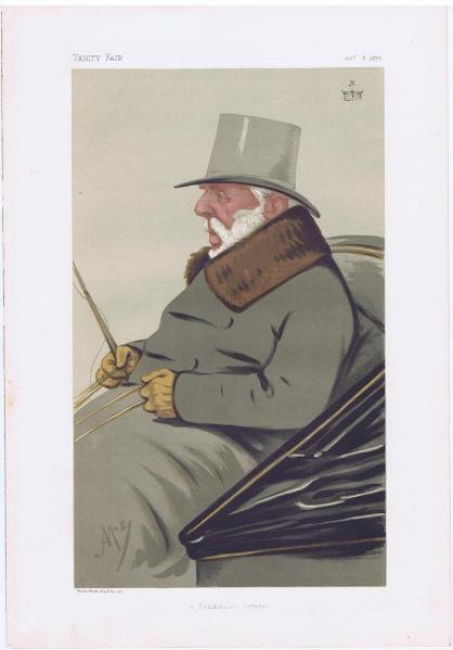 George Hay Vanity Fair Print 1875