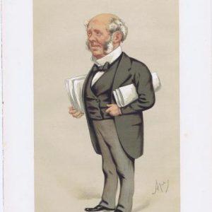 Arthur Fitzgerald Kinnaird Vanity Fair Print 1875