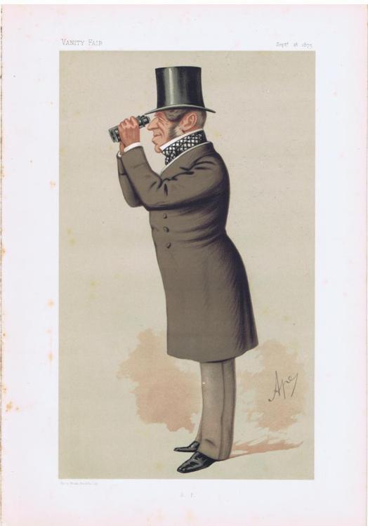George Payne Vanity Fair Print 1875