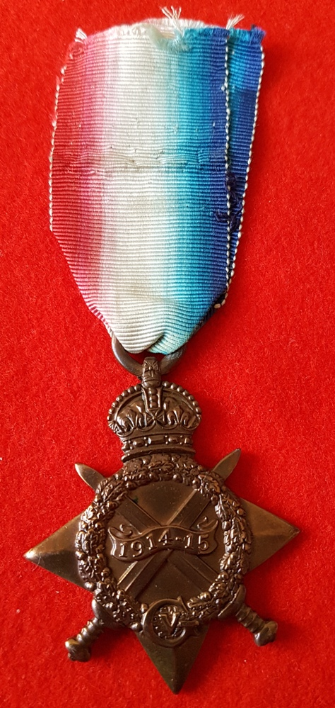 Royal Naval Reserve Officer Great War Star