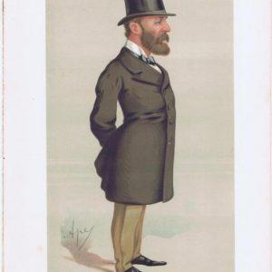 Rear-Admiral John Hay Vanity Fair Print 1875