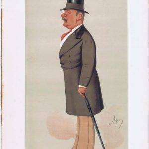 George Augustus Sala Vanity Fair Print 1875