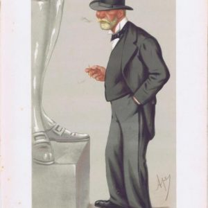 Admiral Clarence Paget Vanity Fair Print 1875