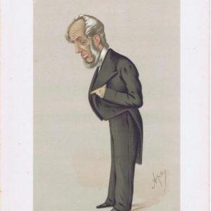 Abraham Hayward Vanity Fair Print 1875