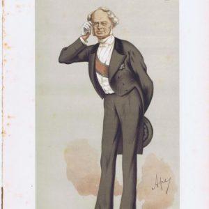 Count Frederick Beust Vanity Fair Print 1875