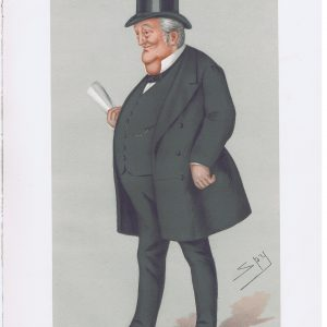 Thomas Bayley Potter Original Vanity Fair Print