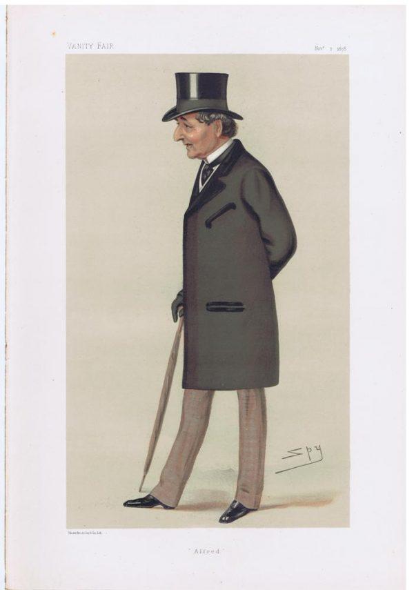 Alfred Montgomery Original Vanity Fair Print