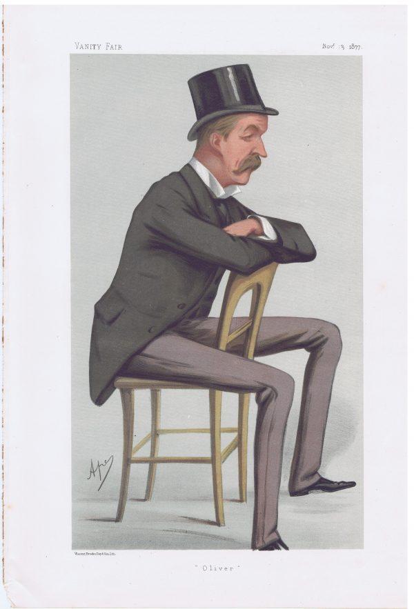 Oliver George Paulett Montagu Vanity Fair Print