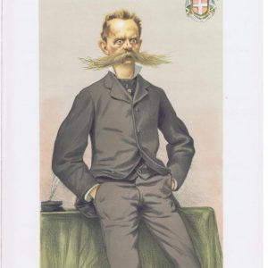 King Humbert of Italy Vanity Fair Print