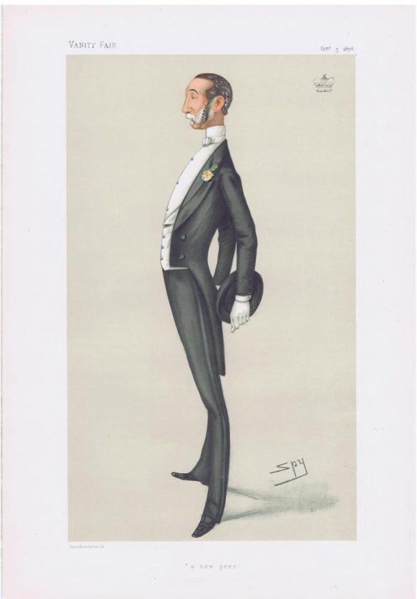 Robert Tolver Gerard Original Vanity Fair Print