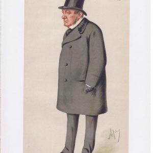 Richard Lyons Lord Lyons Vanity Fair Print