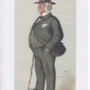 James Dalrymple Elphinstone Vanity Fair Print