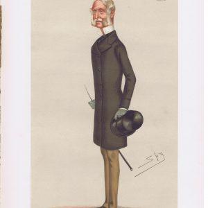 Francis Seymour Original Vanity Fair Print