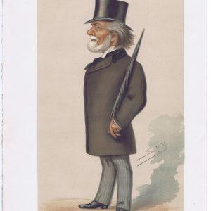 Theodore Martin Original Vanity Fair Print