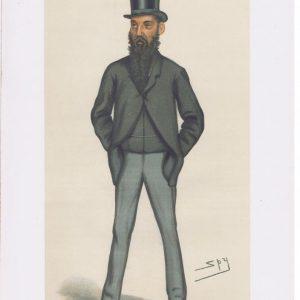 William EdwardesLord Kensington Vanity Fair Print