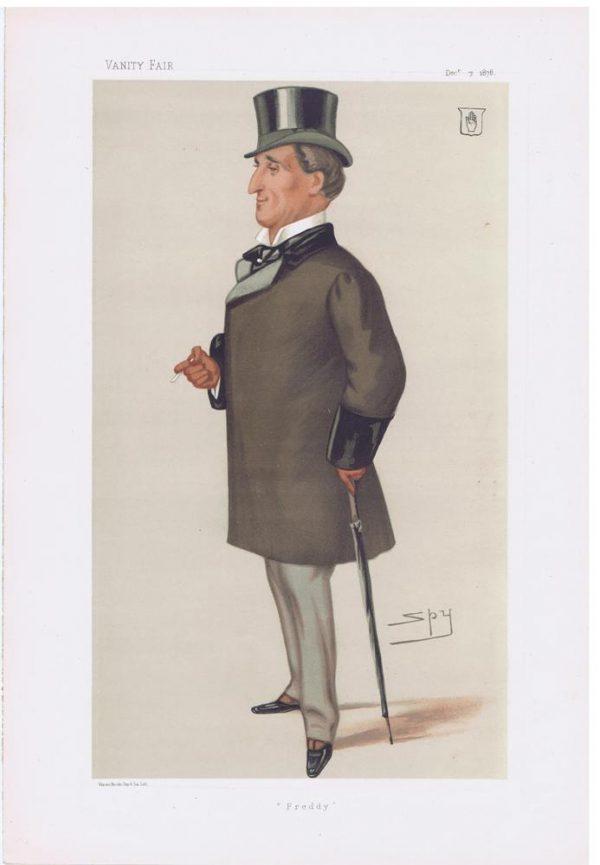 Frederick Johnstone Original Vanity Fair Print