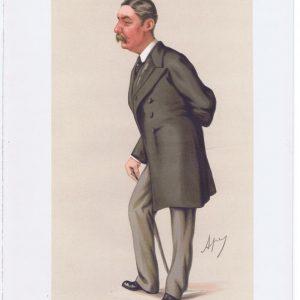 Lieut-General Valentine Baker Pasha Vanity Fair Print