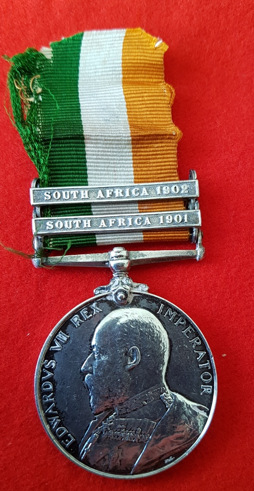 Officer 16th Lancers King's South Africa Medal