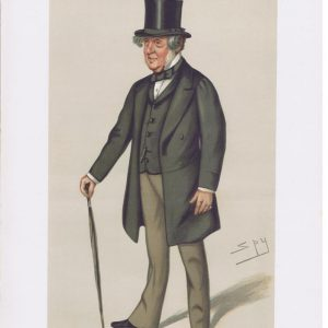 Colonel John Sidney North Vanity Fair Print