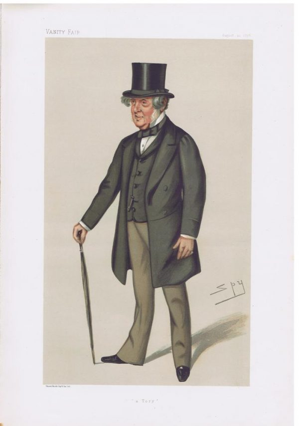 Colonel John Sidney North Vanity Fair Print