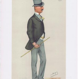 James Butler Marquess Of Ormonde Vanity Fair Print