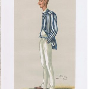 Vanity Fair Cricketer Print Frederick Spofforth