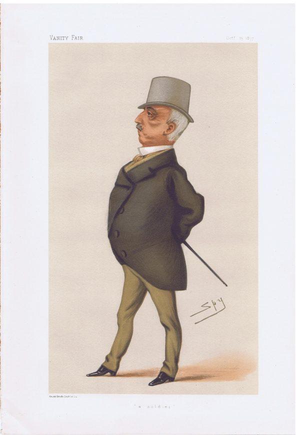 General George Paget Original Vanity Fair Print