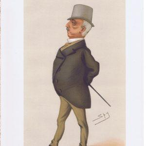 General Nikolai Ignatieff Original Vanity Fair Print