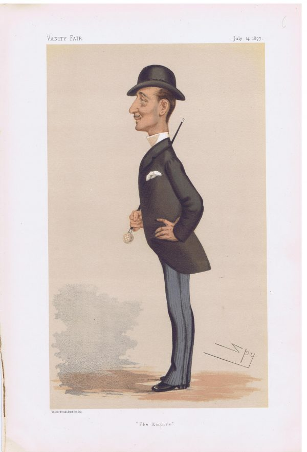 Napoleon Prince Imperial Vanity Fair Print