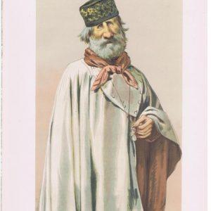 General Giuseppe Garibaldi Original Vanity Fair Print