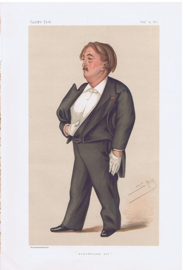 Paul Gustave Dore Original Vanity Fair Print