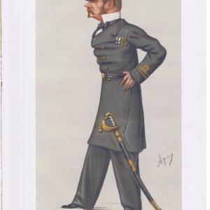 Sir Allen Young Original Vanity Fair Print