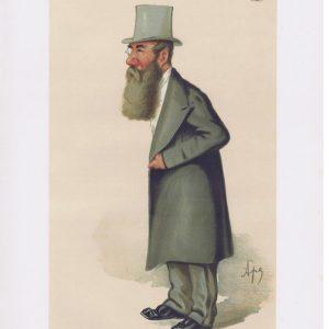 Freemason Charles Abbott Vanity Fair Print