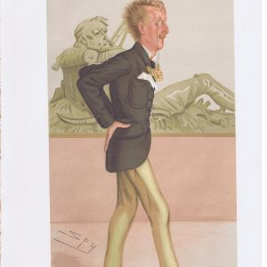 Ronald Leveson-Gower Original Vanity Fair Print