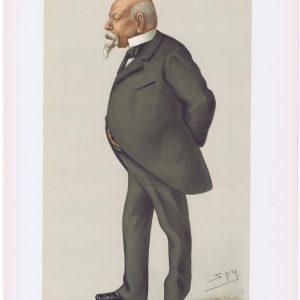 Samuel Ward Vanity Fair Print