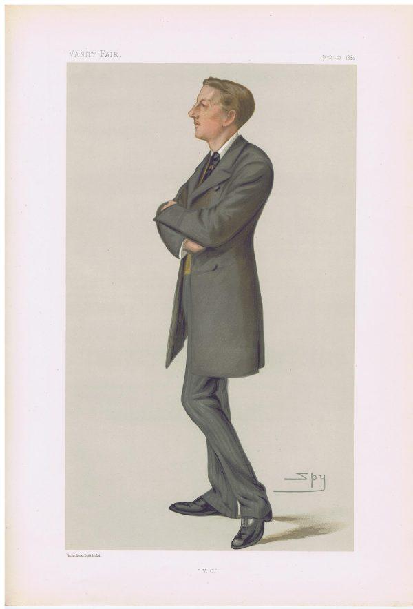 Victoria Cross Winner Captain Gifford Vanity Fair Print