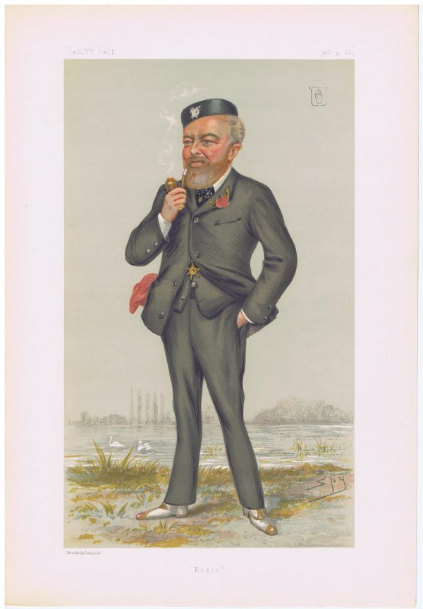 Sir Roger William Henry Palmer Vanity Fair Print