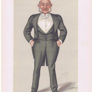 Admiral John MacDonald Vanity Fair Print
