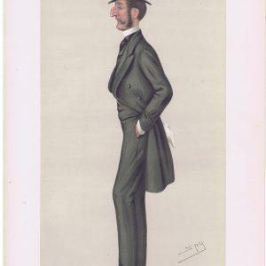 Colonel Robert Kingscote Vanity Fair Print