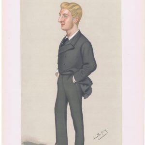 Commander Lord Ramsay Vanity Fair Print