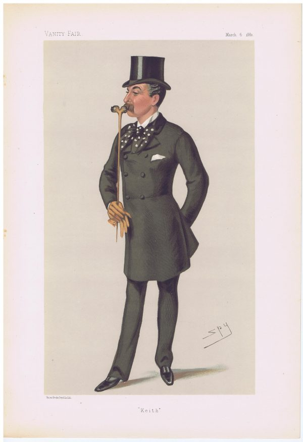Colonel James Keith Fraser Vanity Fair Print