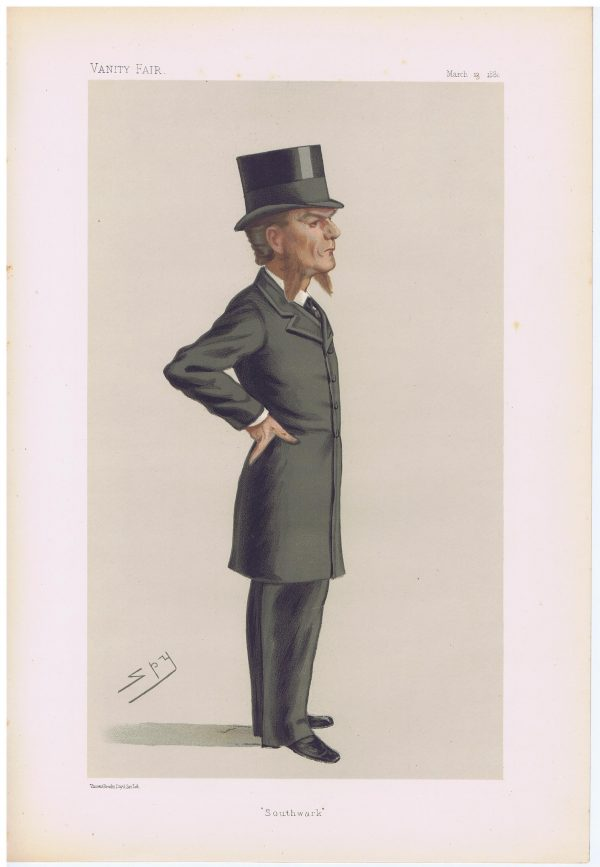 Famed Barrister Edward Clarke Vanity Fair Print