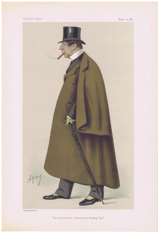 Markham Spofforth Vanity Fair Print