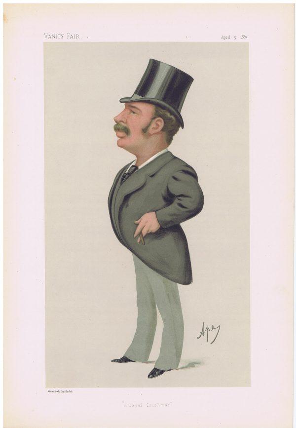 Lord Headley Vanity Fair Print
