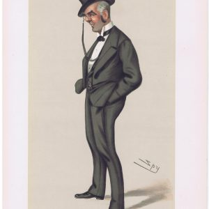 Original Vanity Fair Print of Henry G Calcraft
