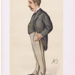Baron Henry De Worms Vanity Fair Print