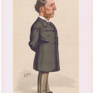 Frederick Greenwood Vanity Fair Print